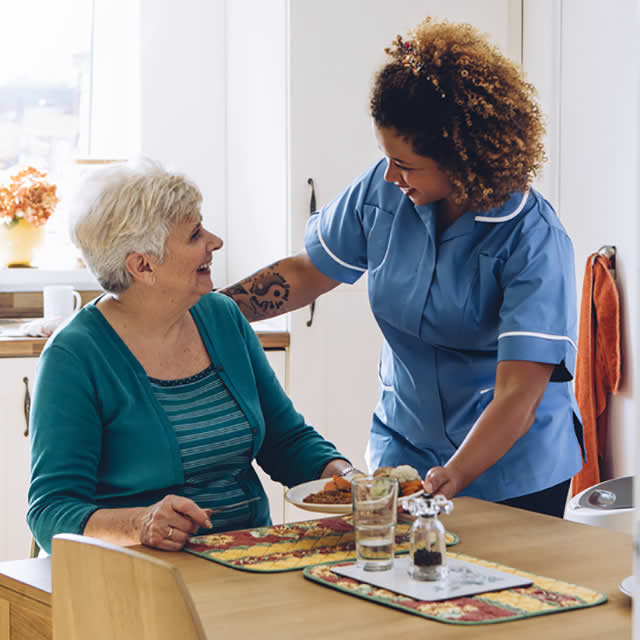 Mealtime and Home Care Watford from Helping Hands Watford Ltd